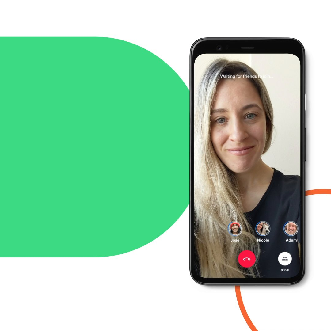 Come one, come 32. Have up to 32 people on your next Google Duo group call on Android. Try it now: goo.gle/2A0IJCY