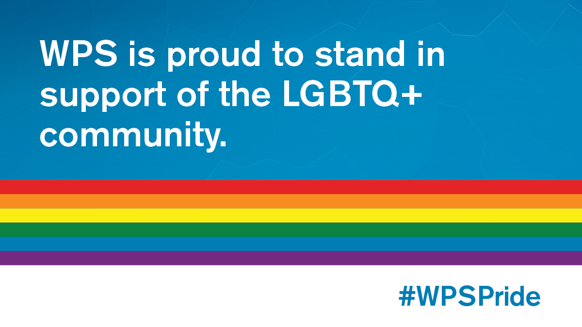 During Pride Month and every month, WPS is proud to stand in support of the LGBTQ+ community. #WPSPride #MutualRespect #StrengthInDiversity https://t.co/eSEyvcrPzA