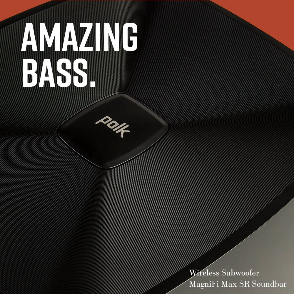 Don't just hear the #treble, feel it. Add bigger, more realistic #bass impact to your #soundsystem with a #PolkAudio #subwoofer.  Buy a sub today: https://t.co/JaJxWM1O3J https://t.co/isiZyfTsXc