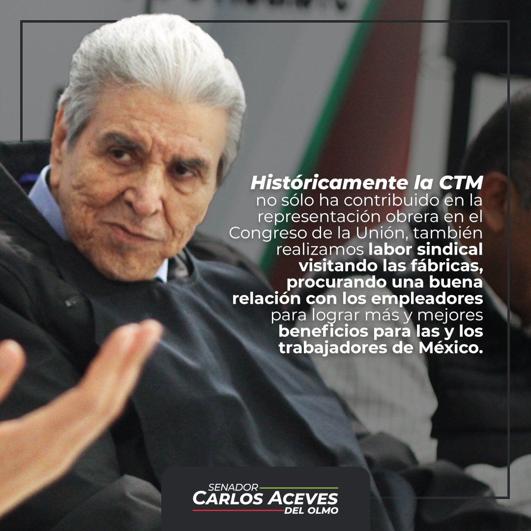 La @CTM_MX —nuestra gran central obrera— desde su origen está llamada a ser la promotora de los derechos de las y los trabajadores de México.  ¡Unidad y Trabajo! https://t.co/HY52LWuUbJ