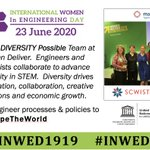 Image for the Tweet beginning: Today is #INWED20 @INWED1919 #ShapeTheWorld@SCWIST