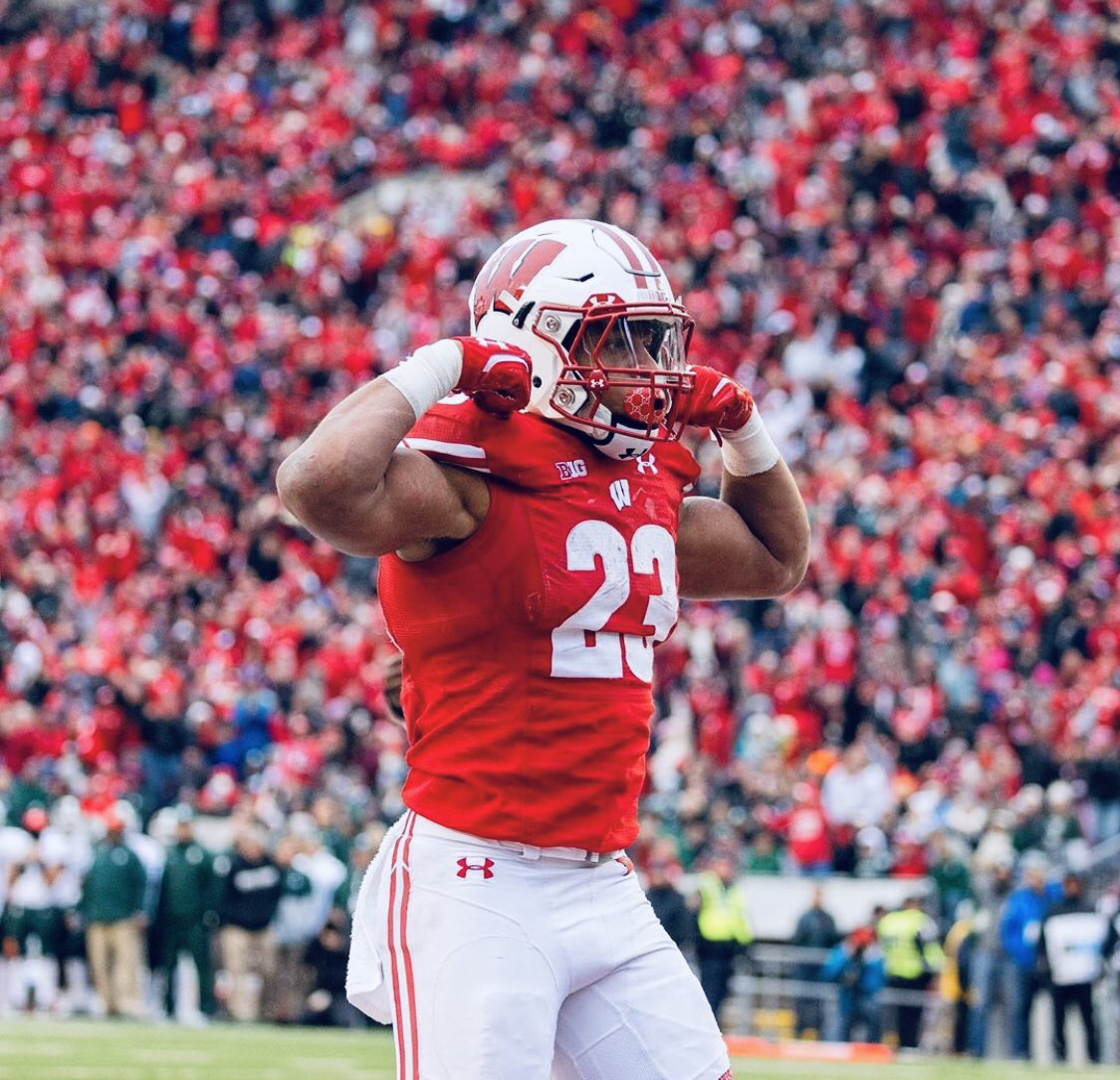 AGTG. Blessed to receive an offer from The University of Wisconsin! @ChadSimmons_ @Mansell247 @RecruitGeorgia @CoachWild15 @CoachTurnerUW @TEwracademy https://t.co/lcWxP4ndyD