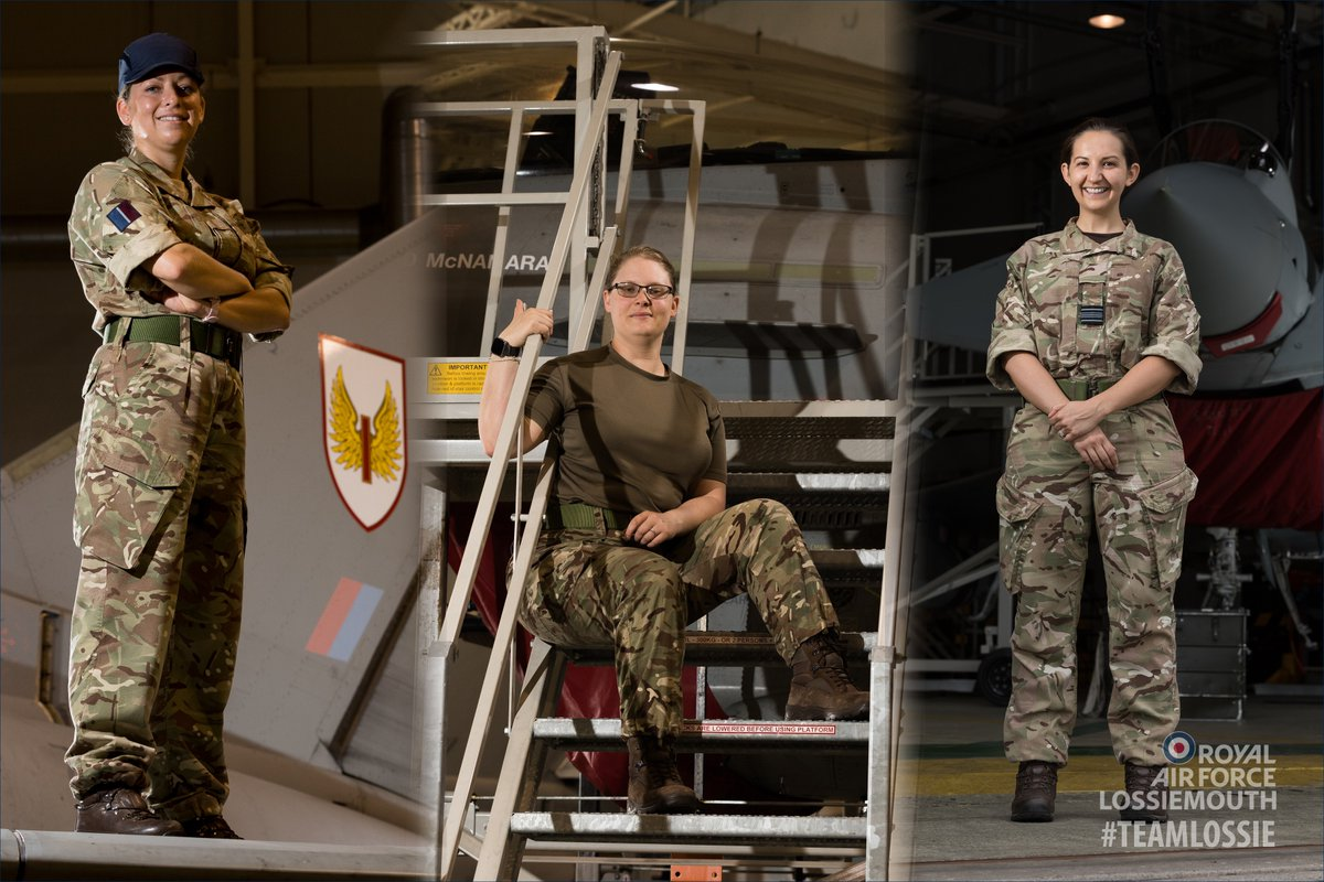 Today is International Women in Engineering Day, celebrating those who are trailblazing in their line of work as an Engineer in the @RoyalAirForce!   Meet 3 of #TeamLossie's own! Flt Lt Dani Barnett, A/Cpl Tanya Breach & Sqn Ldr Steph Wilde:   https://t.co/iKSvlgIQaL  #INWED20 https://t.co/Als0o9t2DA