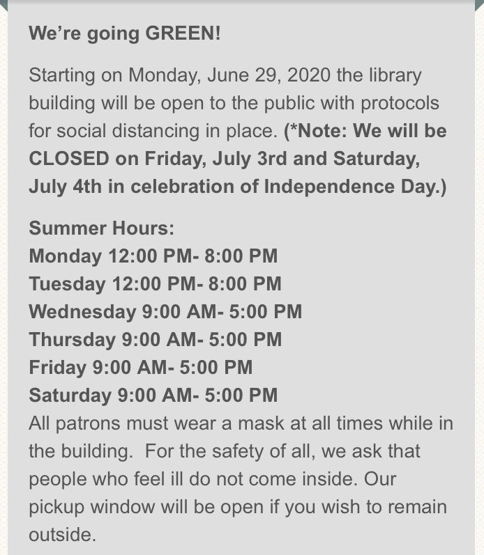 Allentown Public Library (@AllentownPubLib) on Twitter photo 23/06/2020 19:19:24