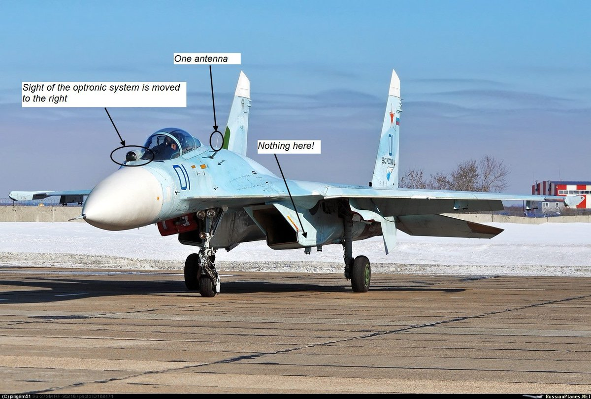 Su-27SM is the first modernization of Su-27, which got better ground attack capabilities.And Su-27SM3 is the latest and most perfected variant of Su-27, slightly unified with Su-35S. It inherited all features of the Su-27SM and got some of the new ones.