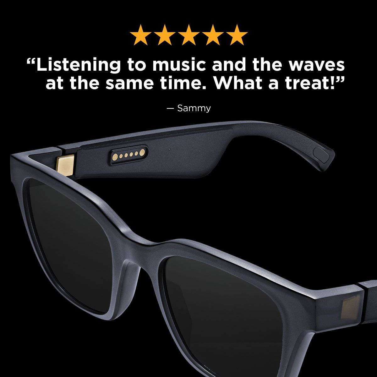 Sounds like the perfect beach day. Save on #BoseFrames now through June 28: bose.life/2J2Tfww