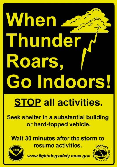 Did you know, if you can hear thunder, there is a chance lightning can strike nearby? Don't think you're safe just because the sky overhead is clear. Find out more at https://t.co/jm5mXIpeBf. It's Lightning Safety Awareness Day in Wisconsin. #ReadyWI #wiwx https://t.co/J2rJrEip1B