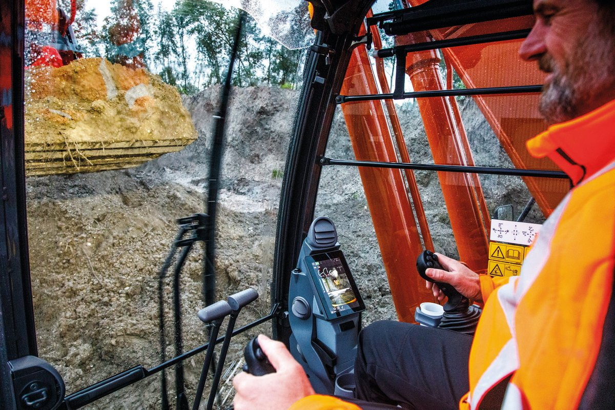Have you been inside one of the new #Hitachi Zaxis-7 medium #excavators yet?  We've added some new features to the range with the operator in mind.  Find out more: https://t.co/wxZvZ6fPWR. https://t.co/zybVkzA7XH