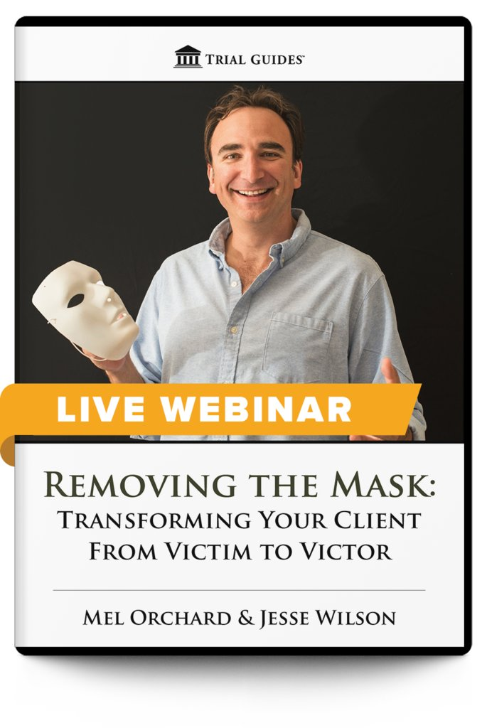 New Webinar!  Removing the Mask: Transforming Your Client From Victim to Victor - with Mel Orchard and Jesse Wilson  July 8, 2020 ♦ 12:30 PM ET ♦ 9:30 AM PT  Register and learn more here: https://t.co/1N3oWFGfbB https://t.co/hBS0sGruk0