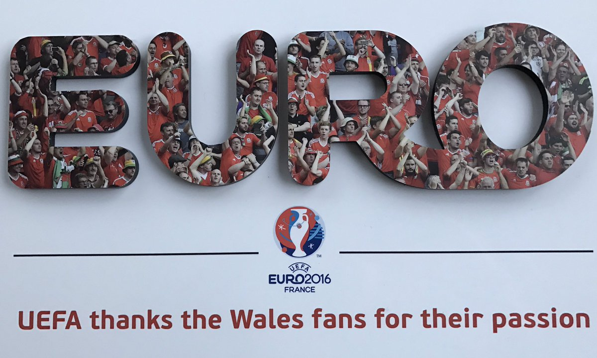 We couldn't bring a trophy back from #EURO2016 but #TheRedWall did 👇  #TogetherStronger https://t.co/o1yR6w0z8R
