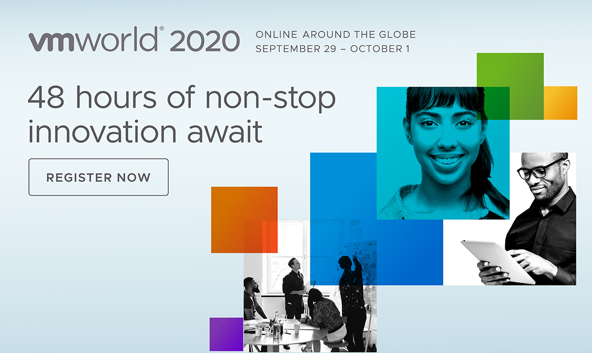 Call to action: Register for VMworld 2020!