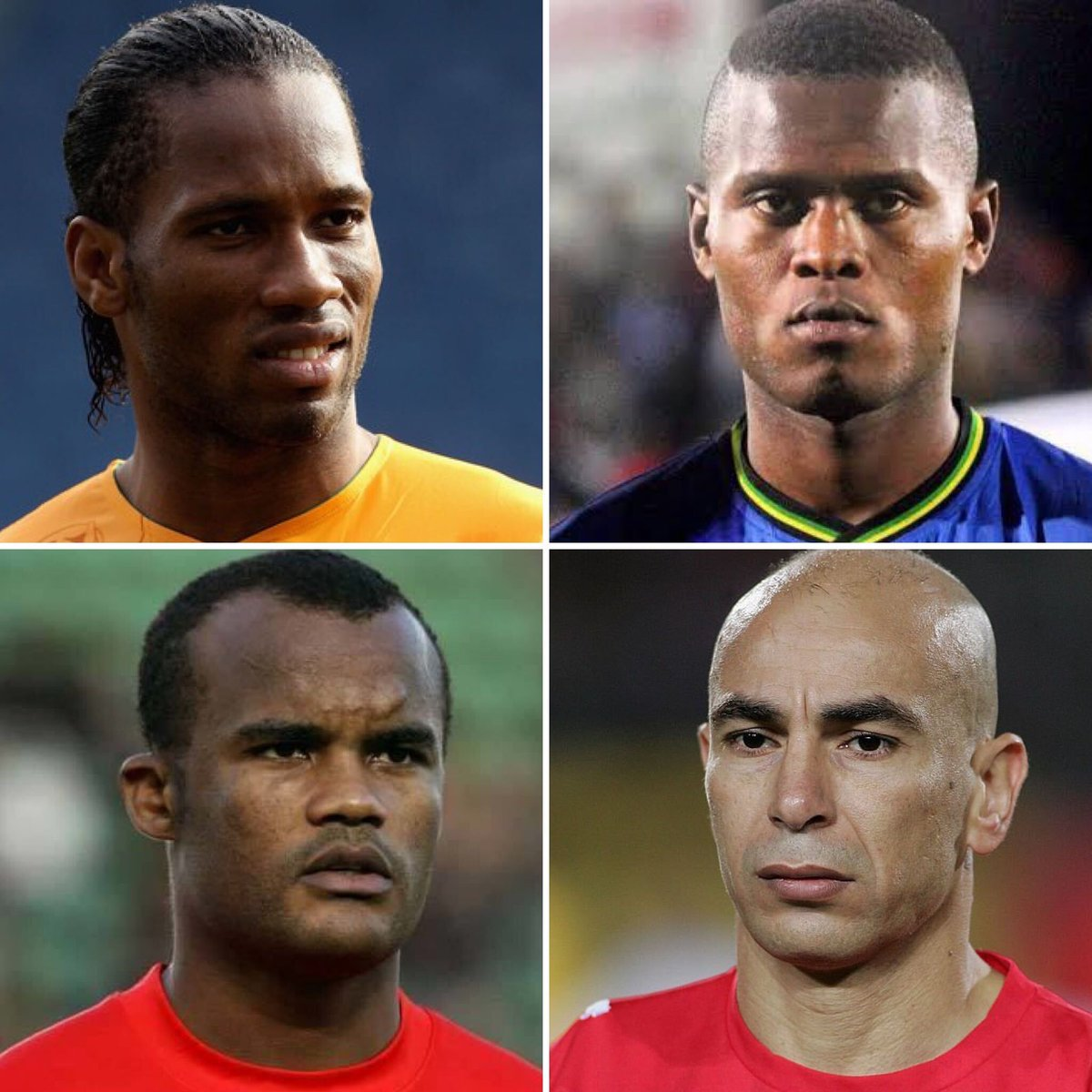 Africa has seen several excellent headers of the ball, some of the most renowned ones are 🇨🇮 @didierdrogba, 🇹🇿 @Samagoal77_, 🇦🇴 Flávio & 🇪🇬 Hossam Hassan.  Who else would you include on this list? 💆‍♂️ https://t.co/faxsvk8YuE