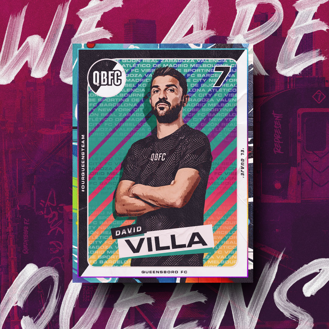 @Guaje7Villa is a very important part of #OurQueensTeam  During his years playing and living in #NYC he fell in love with Queens and its people. He started the @DV7Soccer academy in #Astoria and now we have him as our Co-Founder and President of Soccer at @QueensboroFC ❗️#QBFC https://t.co/MZNXrhkPvD
