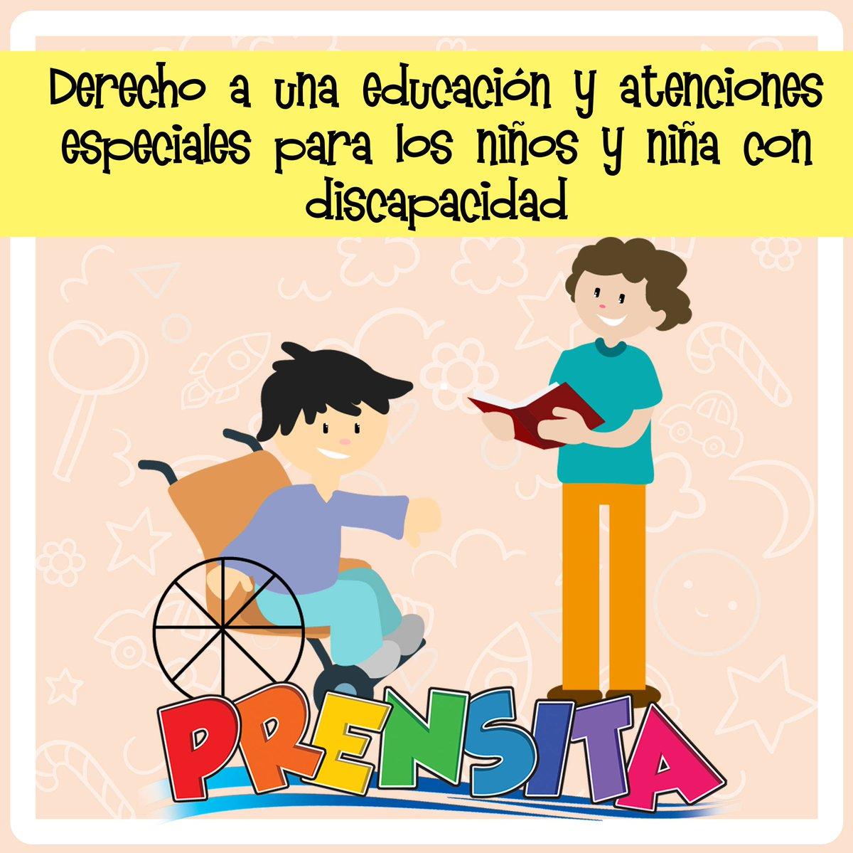 Prensita On Twitter Los Niños Y Niñas Con Discapacidad Tienen Derecho A Una Educación Que Permita Desarrollar Todas Sus Habilidades