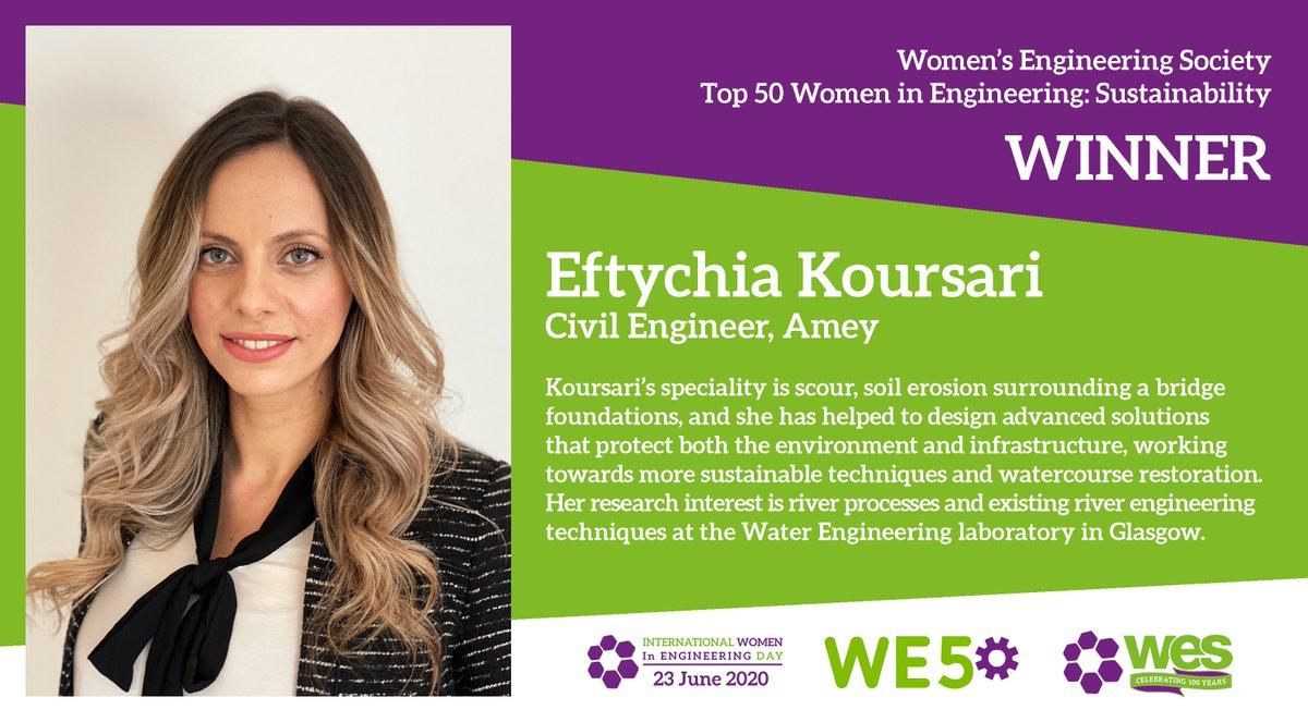 Congratulations to Dr Elizabeth Tennyson! #WE50