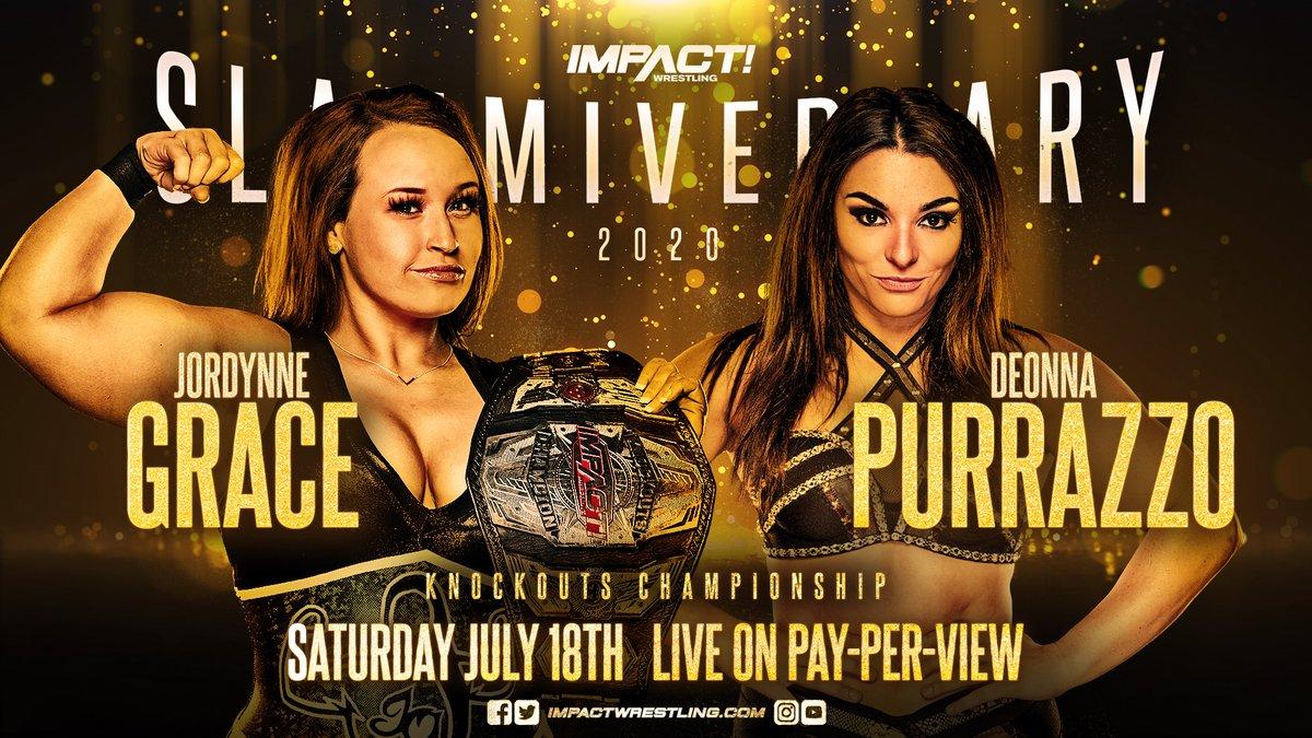 Impact Wrestling Announces Second Championship Title Defense For 'Slammiversary'