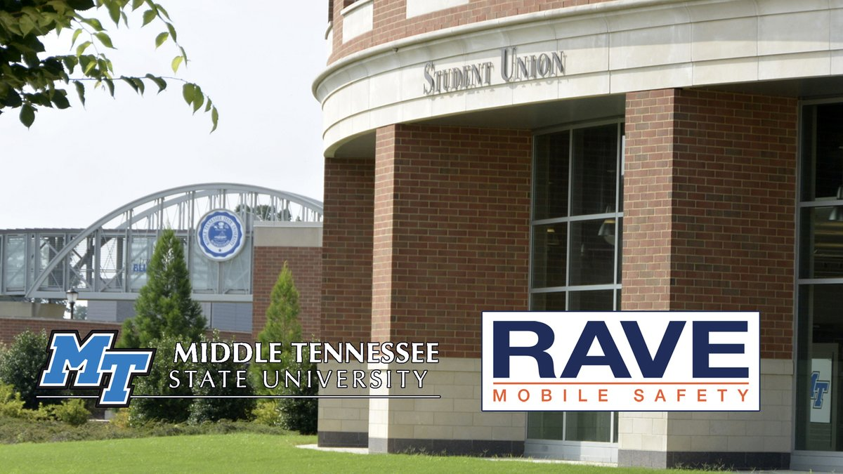 HEY #MTSU community: We're testing our @RaveMSafety emergency #alert system @ 1:15 p.m. TOMORROW (WED), 6/24. Don't panic; get details @ https://t.co/dT19ubzJzQ, then watch for your email, text & voice notification! #TrueBlueSafety #ThisIsOnlyATest https://t.co/2ZfwQxHjmz