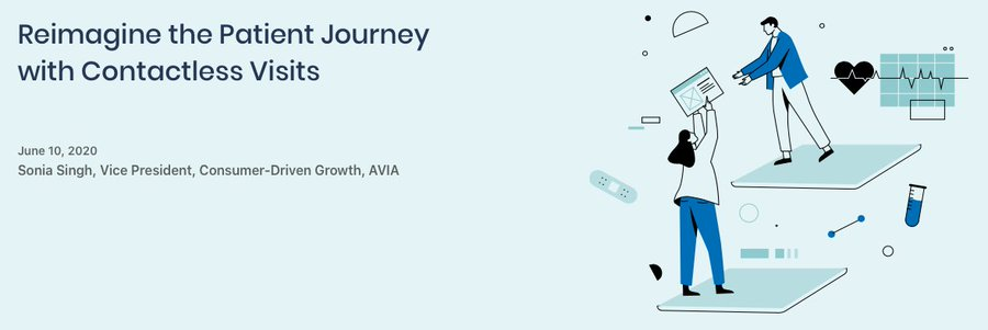 "Read @HealthAVIA's latest Insights piece, ""Reimagine the Patient Journey with Contactless Visits,"" which highlights how @mymhsystem is using Phreesia's Zero-Contact Intake to support its new workflows during #COVID19: https://t.co/GIYvYythcC https://t.co/m1FvdSvcrf"