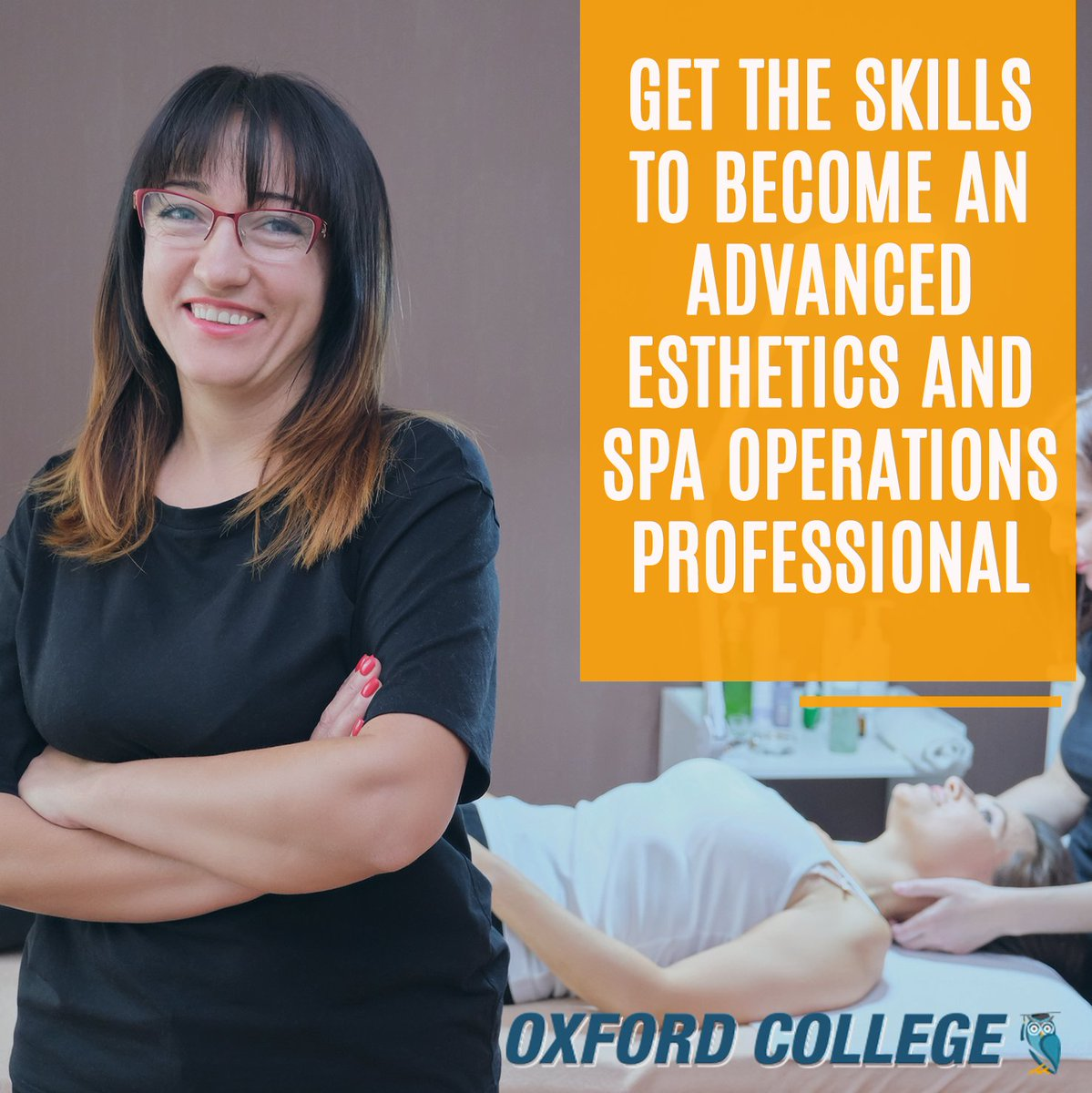 Our Advanced Esthetics and #Spa Operations program will prepare you for a range of #career opportunities and give you the confidence you need to succeed in today's #beauty industry.  Interested? Discover this program: https://hubs.ly/H0ryFdc0  #OxfordCollege #OxfordEdupic.twitter.com/PNl0oreSBR