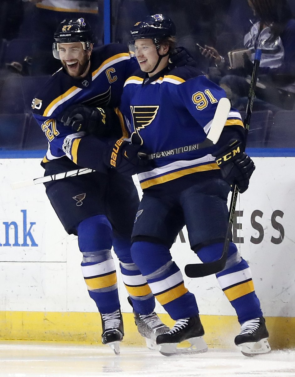 Tune in tonight for This Week in Hockey with @chriskerber and @Ferrario101ESPN on @101espn. The guys will be joined by @Jkellyhockey & @DaveMishkin. Plus, #STLBlues Vladimir Tarasenko and Alex Pietrangelo join the show. Get your hockey fix starting at 6!