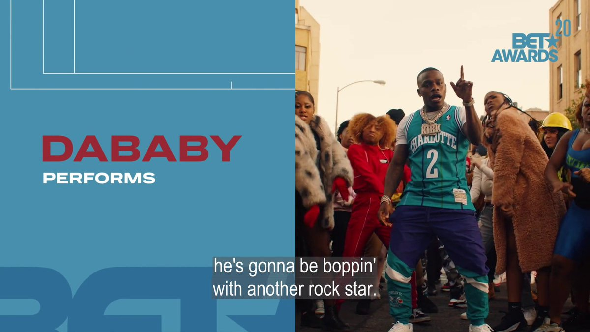 Going Baby On Baby! Don't miss @DaBabyDaBaby at the 2020 #BETAwards Sunday 8/7c!