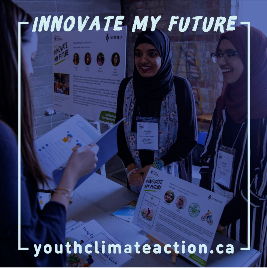 Hey Richmond Hill youth, your community needs #ClimateActionNow! Join @yci_org's #InnovateMYFuture program, funded by @Jobs_Emplois, to work with local experts, tackle #climateissues & make a difference. Learn more ➡ https://t.co/H5OX89SUsO  @EvergreenCanada #ResilientRH https://t.co/sTif7XO631