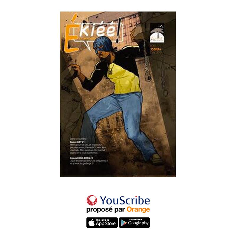 OMG ! Ekiéé est sur @YouScribe_fr 😍 ! Un super-héros pas  comme les autres, un comics 100% africain, bref on adore ! Et vous ? Plus d'infos sur : https://t.co/uGbwdPDiY9  Fanta https://t.co/wwFPdFwcWF
