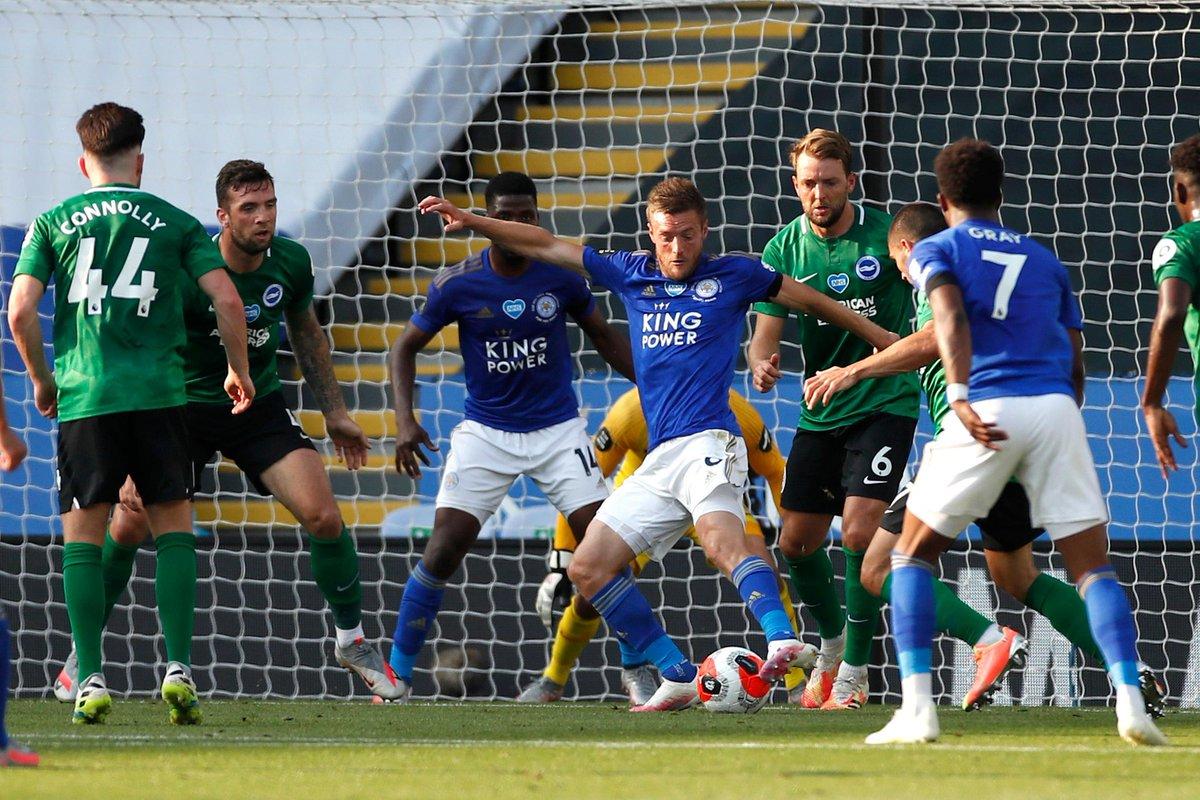 Xem lại Leicester City vs Brighton, Ngoại hạng Anh – 24/06/2020