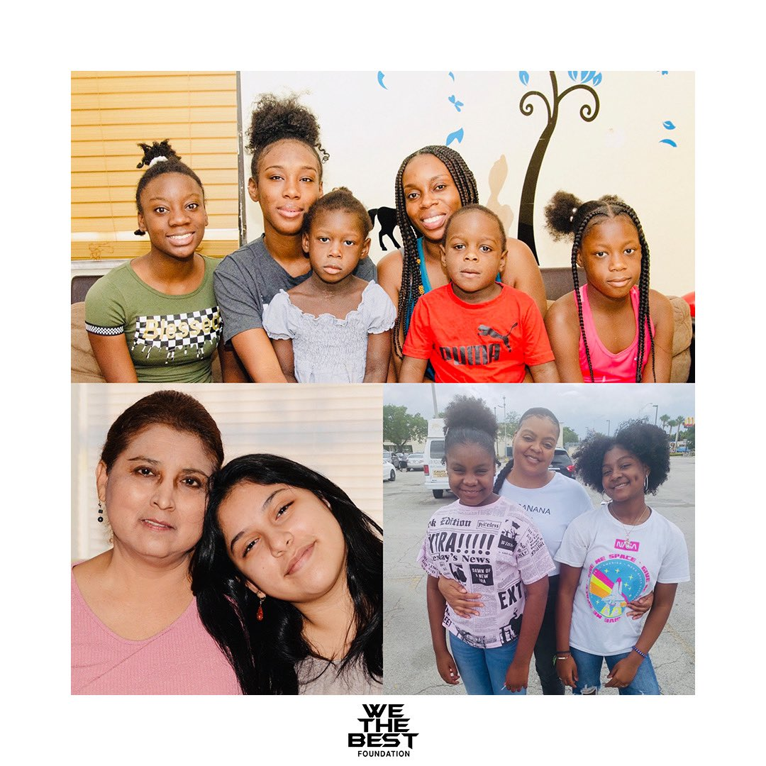 Bless up to the beautiful families! We are proud to pay the rent and provide essential for one year! @WeTheBestFDN   -  DJ KHALED'S WE THE BEST FOUNDATION PARTNERS WITH THE MIAMI RESCUE MISSION AND THE OVERTOWN YOUTH CENTER https://t.co/daOCMd9bqa