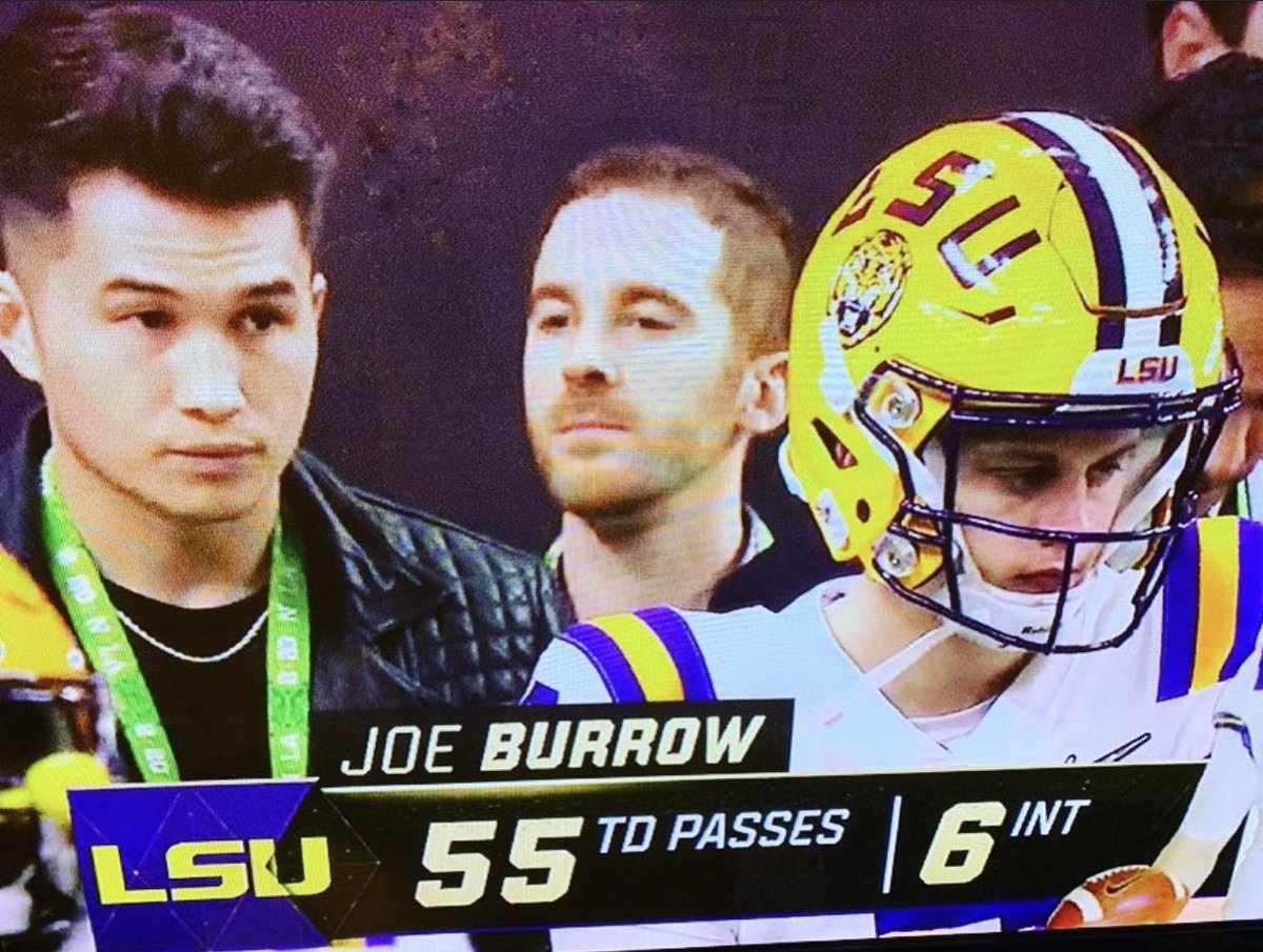 This one ain't bad either. Just to clarify I am not Joe Burrow. twitter.com/Chris_Grosse/s…