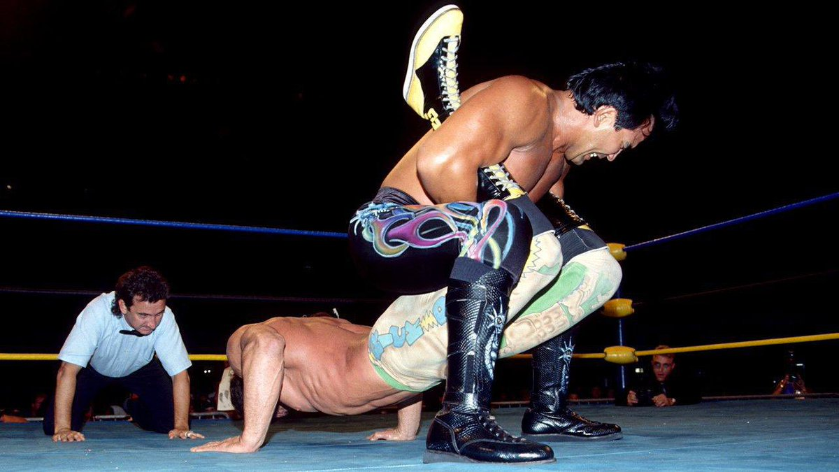 "Wrestlemaníacos в Twitter: ""#87 • Ricky Steamboat vs. Rick Rude – 30-Minute Iron Man Challenge: Beach Blast 1992… """