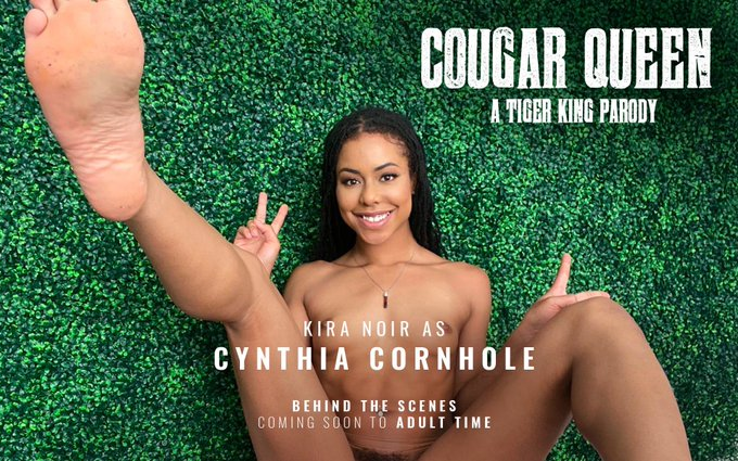 Coming Soon!  Cougar Queen: A Tiger King Parody 🐯  BTS featuring yours truly as #CynthiaCornhole | Virtually