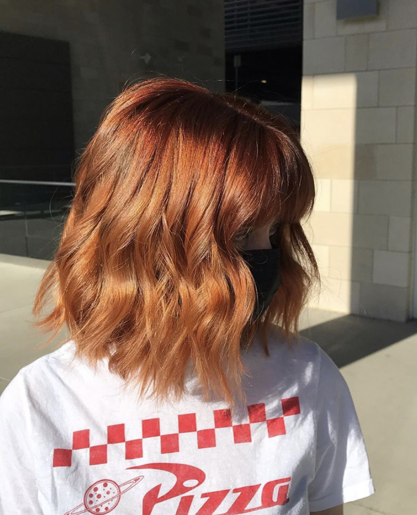 All fired up 🤸‍♀️ Color and cut by Arin of Tangerine Salon - Frisco https://t.co/F8PZGr9M4m https://t.co/aPZ2mmSAFr