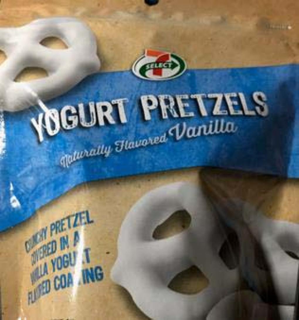 "Mount Franklin Foods, LLC dba Azar Nut Company Issues Allergy Alert on Undeclared Peanuts in ""7-Select Yogurt Pretzels"" https://t.co/gczZEi7eE9 https://t.co/1VBy5mxpjF"