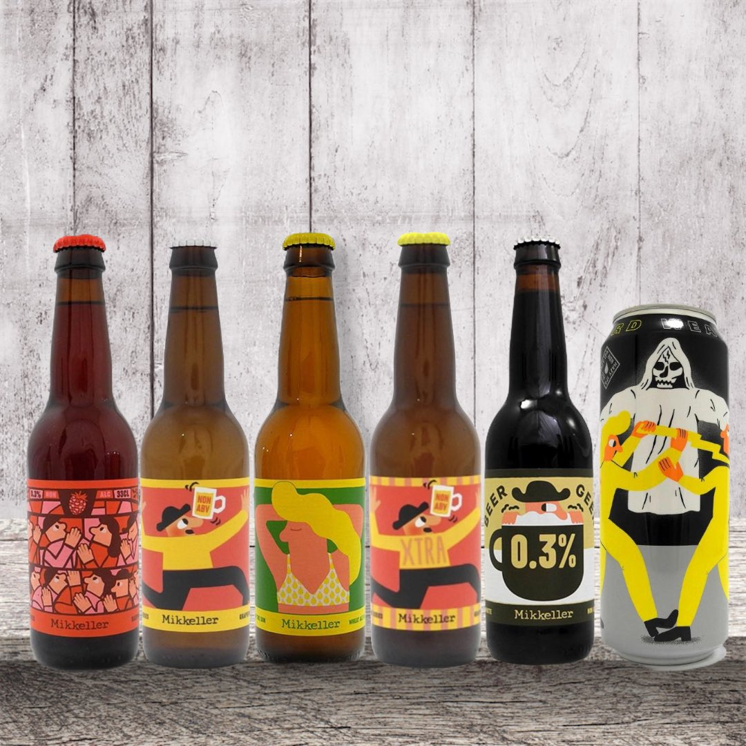 Want to try Mikkeller beers? but dont know where to start. The Mixed @mikkellerbeer bundle may be  exactly what your looking for.  https://t.co/hwpQNFGSXi  . . . #alcoholfreebeer #alcoholfreebeers #alcoholfreebeerreviews #nabeer #nabeers #nonalcoholicbeer #nonalcoholicdrink #beer https://t.co/KAXZ7Kykk1