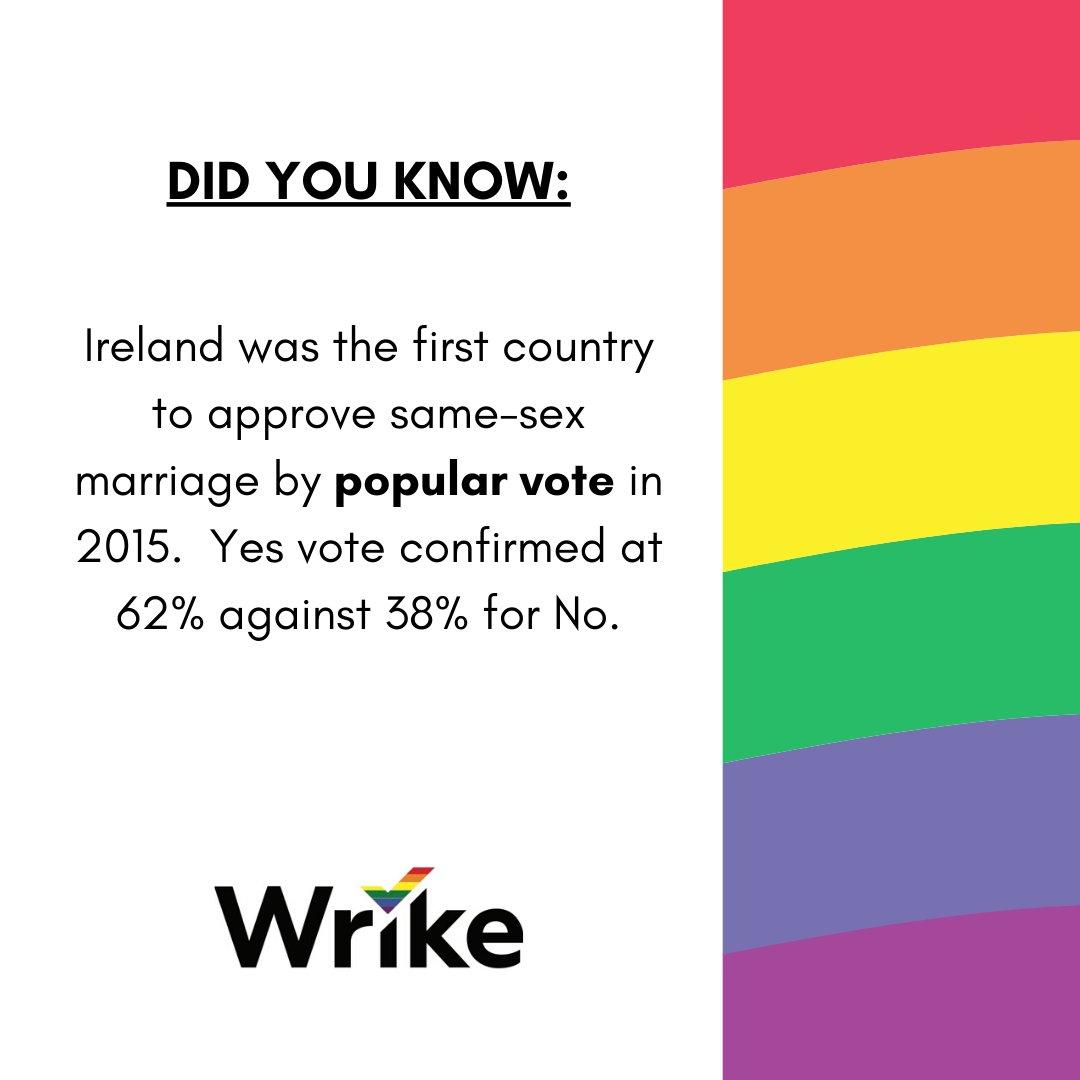 Did you know? (Part 2!) #PrideMonth2020 #IrelandPride #OutWrikersNetwork https://t.co/yf291HeXh2