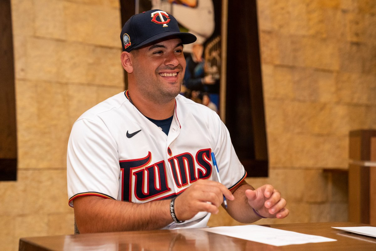OFFICIAL: We signed our first round draft pick. Welcome to the #BombaSquad, @SabatoAaron! #MNTwins