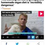 海外のヴィーガンさん、ペットの犬猫にも菜食を強いている模様・・・