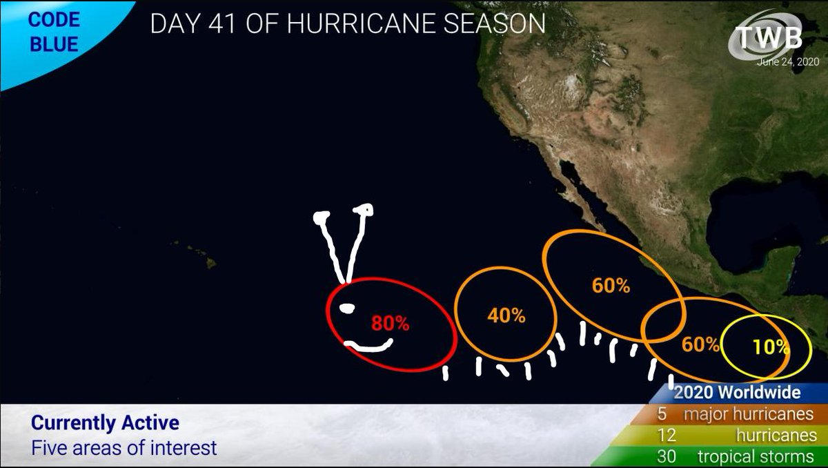 The newest TWB is out!!!! Covering #TropicalStormDolly and the rest of the wide world of #Tropics.  Watch here: https://t.co/YtEMaQrdRz  #TropicalUpdate #dollylicious  #cycloneupdate #cyclone https://t.co/a7aA3pnDci