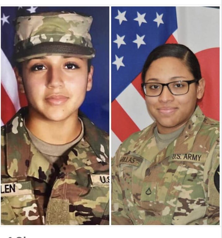 """#IAMVANESSAGUILLEN """"I was sexually harassed on Camp Humphreys, SK. I reported it & five months later I was found dead outside my barracks. I can't tell my story b my Mom is my voice. I am Pfc. Adrienne C. Barillas"""" I will also b Pfc. Vanessa Guillen's voice. #FindVanessaGuillen"""