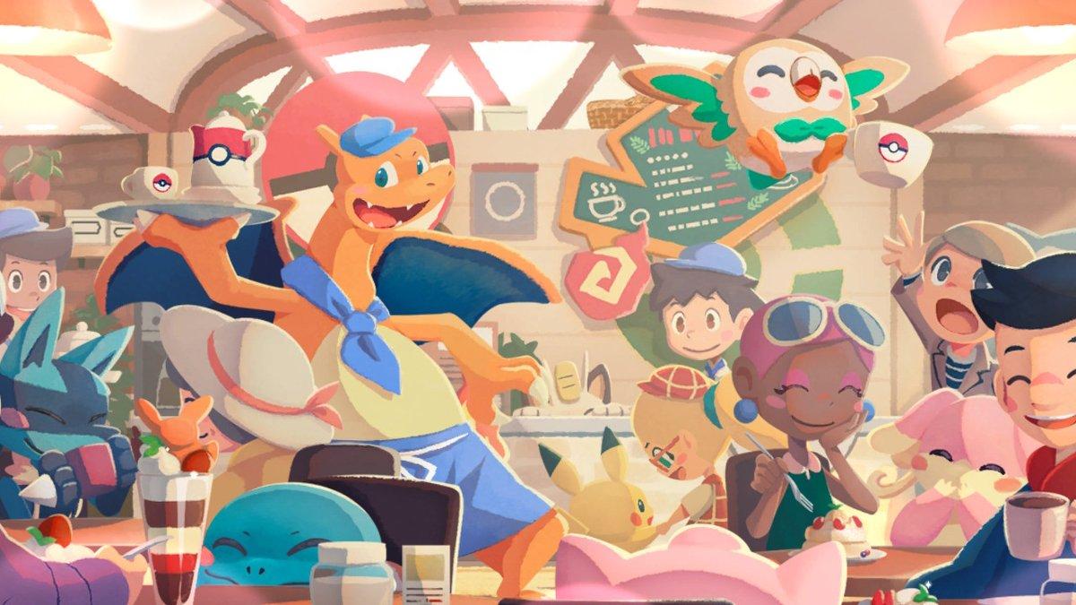 Pokémon Café mix, un videojuego divertido y tierno que se sale del método clásico.