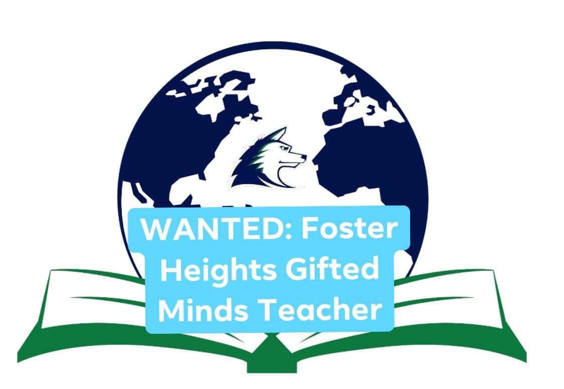 "Foster Heights is looking for a Gifted Minds (SPED) co-teacher! This person will likely be working in K-2. We want someone who LOVES kids, is creative, caring, &wants to work in an innovative school that's reimagining how ""school"" is done! DM me if that's you! #NPossible https://t.co/waSR3Uf2pK"