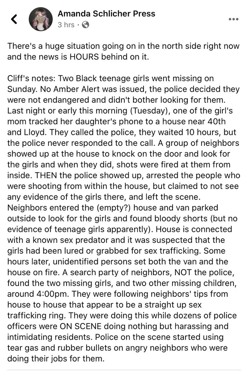 Read this. All of it. This is Milwaukee, today.