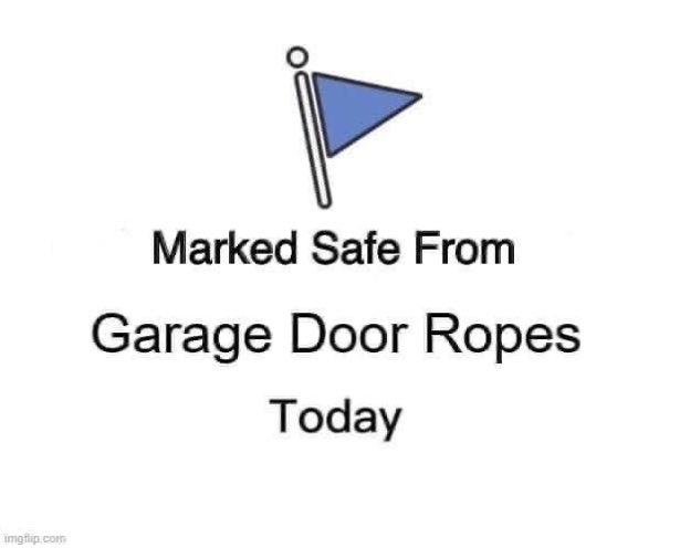 At least I know what a garage door pull rope looks like....Bubba has only seen garage door pull rope for the last few years of his life.....get a grip.....publicity stunt for Hascar! pic.twitter.com/8SybCrKN3q