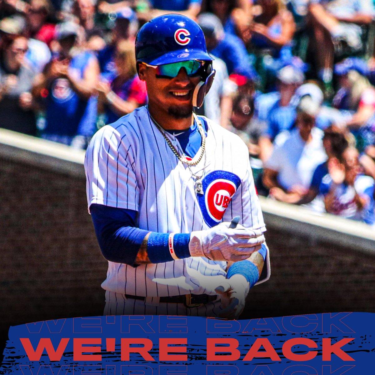 @Cubs 👋🏽👋🏽👋🏽