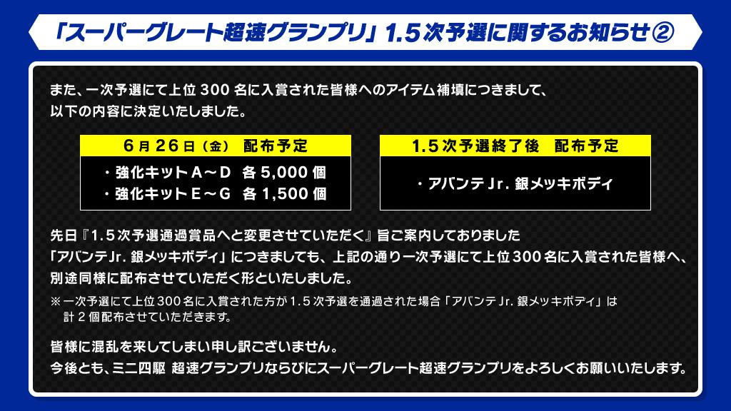 ミニ 四 駆 超速 グランプリ アプリ