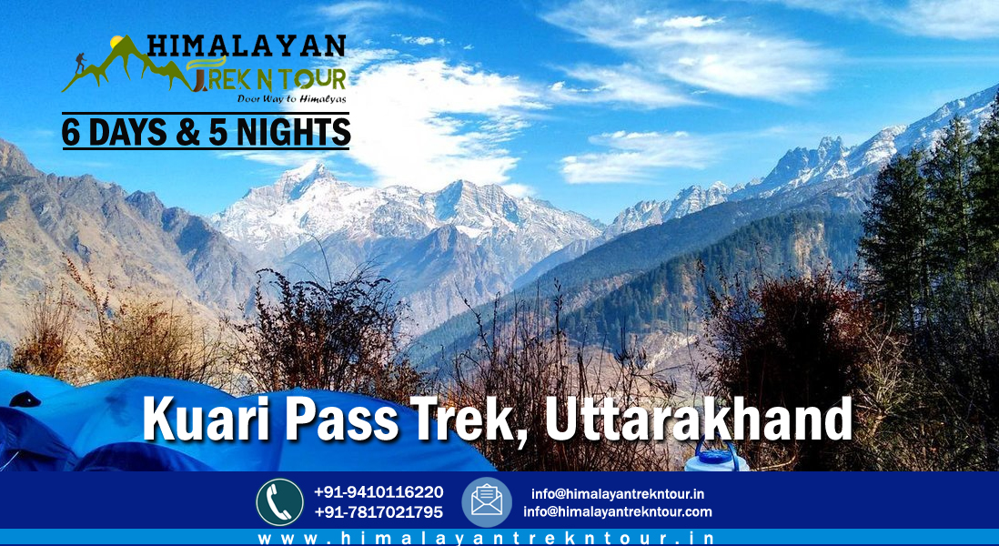 "Get Instant 10% Discount on ""Kuari Pass Winter Trek"" Call for booking: +91-9410116220; +91-9410984988 Website: https://t.co/64B2wcCmxQ Email: info@himalayantrekntour.in #trekking #trek #kuaripass #kuaripasstrek #uttarkashi #uttarakhand #dehradun #tour #travel #himalayantrekntour https://t.co/pK7uzAEQ5Y"