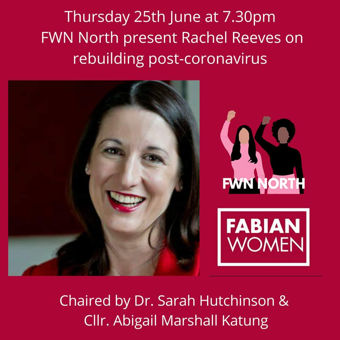 One day to go until our #FWNnorth event with @RachelReevesMP this week. Chaired by @sjhutchinson & @abigailmashall Book here ⬇️ us02web.zoom.us/webinar/regist…