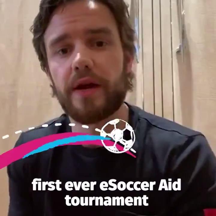 🌎⚽️ @LiamPayne is ready for eSoccer Aid 🗓 Saturday 5pm UK 🎮 Twitch.tv/easportsfifa More here 👉 socceraid.org.uk/esocceraid