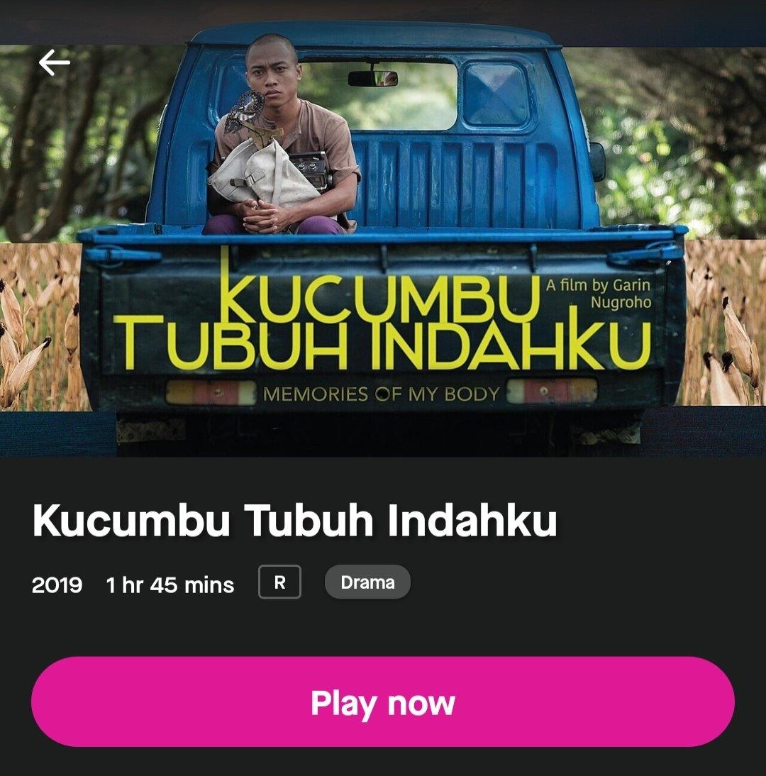 Film Panjang Terbaik FFI 2019 ini ternyata udah bisa ditonton di @GoPlayIndonesia  Yang kemaren beralasan ga sempet nonton di bioskop, silakan tuh.. https://t.co/8Iq7o2D6Nf